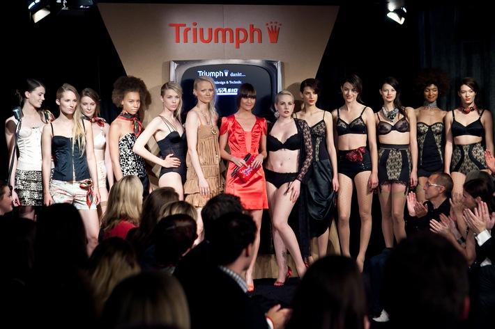 Créations Design de Dessous suisses sur le Catwalk / Joëlle Laederach de Bâle remporte les éliminatoires suisses du Triumph Inspiration Award 2011