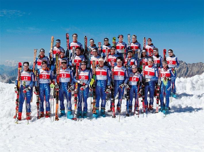 Raiffeisen prolonge pour trois ans son engagement de sponsoring avec Swiss-Ski