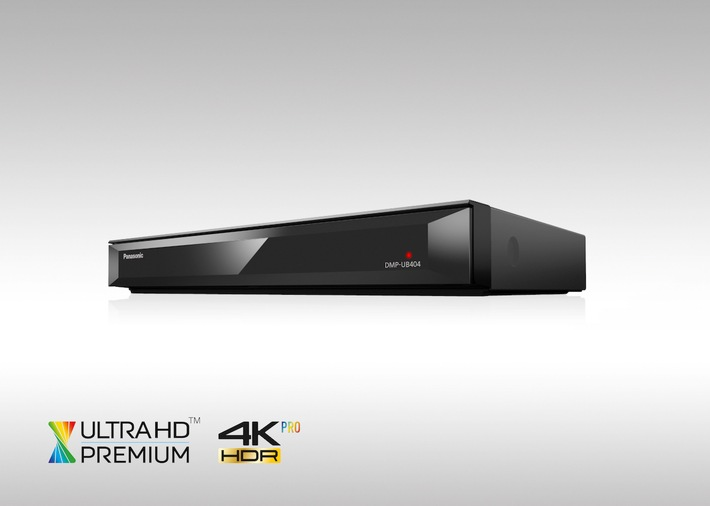 Panasonic Ultra HD Blu-ray Player DMP-UB404 / Beim Technologieführer finden Heimcineasten bereits ein ganzes Sortiment Ultra HD Premium-zertifizierter Player