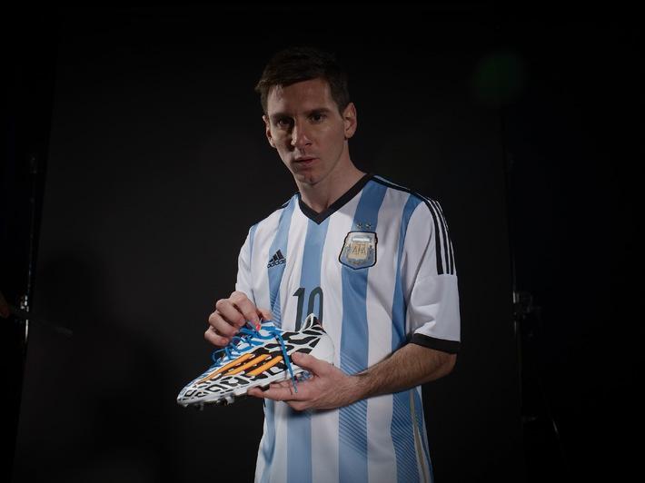 Messi-Schuh exklusiv bei Intersport (BILD)