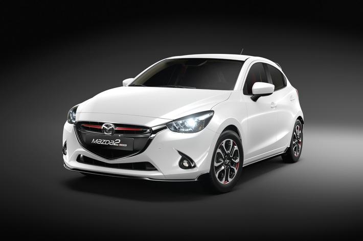 Mazda2 « Swiss Edition » : La version pour la Suisse d'une voiture mondiale / La version spéciale « Swiss Edition » est une véritable rareté, produite à seulement 200 exemplaires