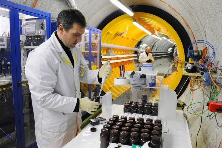 USA ist neuer Partner im Nagra-Felslabor Grimsel