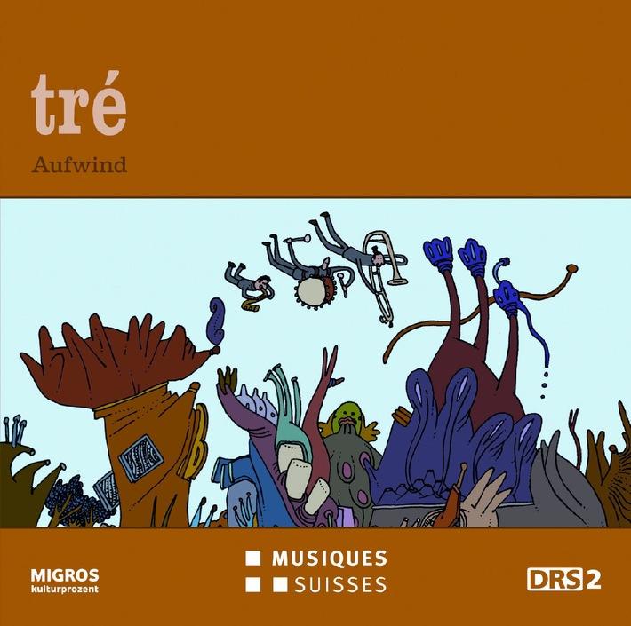 Musiques Suisses / Jazz von DRS 2: vier CDs pro Jahr