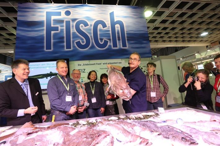 Grüne Woche 2016: Seafood-Markt: Fisch ganz nah erleben