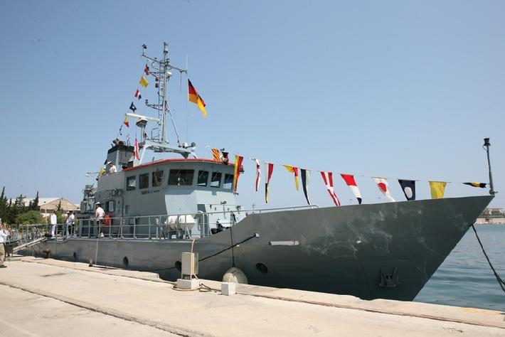 Marine : Drittes deutsches Boot an die libanesische Marine übergeben