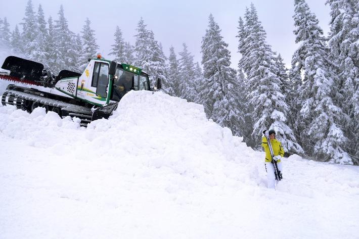 Startschuss für die Skisaison auf der Planai