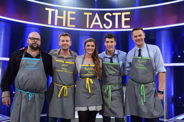 """Siegeshunger: Wer kocht sich am Mittwoch im Finale von """"The Taste"""" zum Sieg und 50.000 Euro?"""