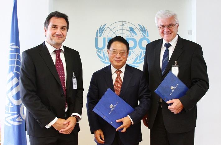 Argor-Heraeus und UNIDO unterzeichnen Memorandum zur Förderung von quecksilberfreien Technologien im Kleinbergbau