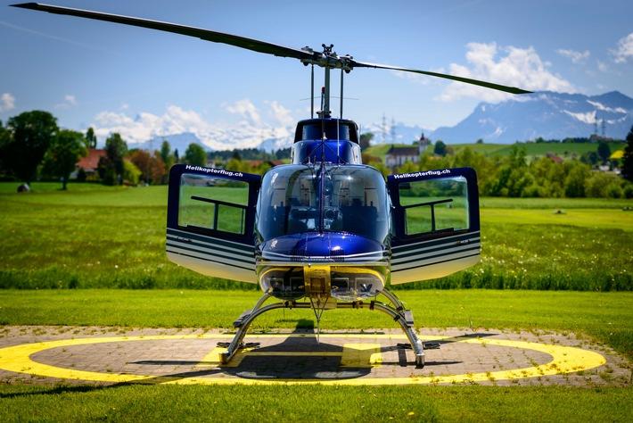 Zehn Jahre Hubschrauberflug.de - Hubschrauber-Reisebüro feiert Jubiläum