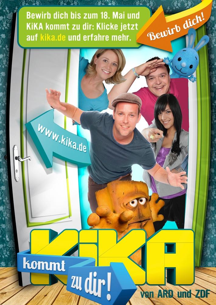 """Countdown läuft für """"KiKA kommt zu dir!"""" / Bewerbung für die neue Mitmach-Aktion noch bis 18.Mai möglich"""
