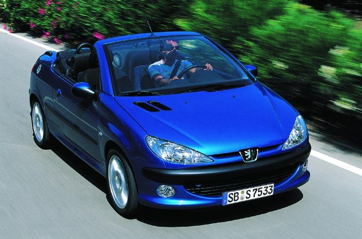 Peugeot 206 CC / Meistverkauftes Cabrio in Deutschland