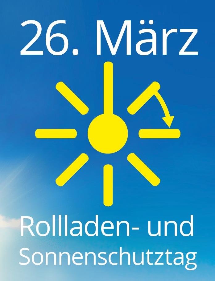 Am 26. März ist Rollladen- und Sonnenschutztag: Sonnenschutz vom Fachmann