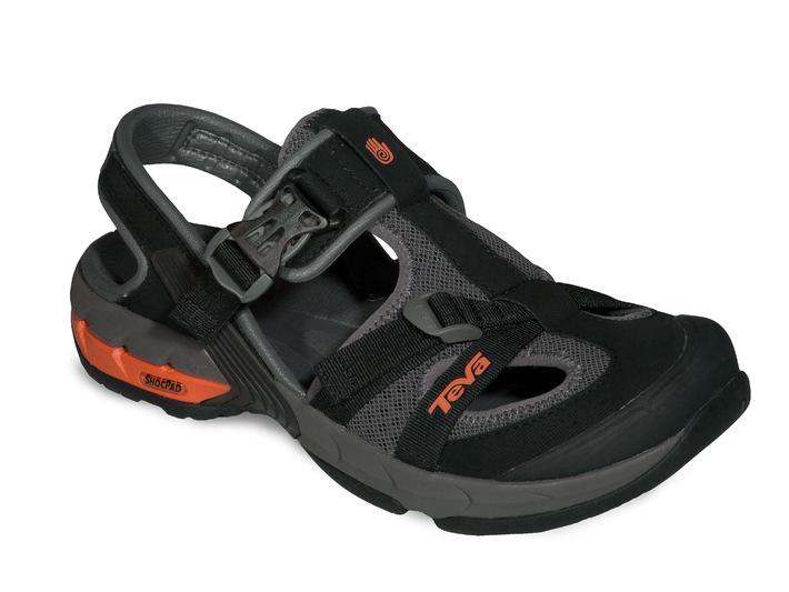 Teva chaussures amphibies: Parfaites dans l'eau comme sur la terre ferme