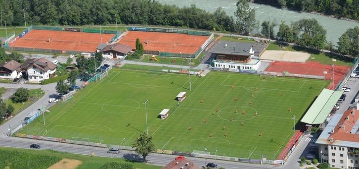 Ferienregion TirolWest wird Partner des 1. FC Kaiserslautern - Trainingslager in Zams