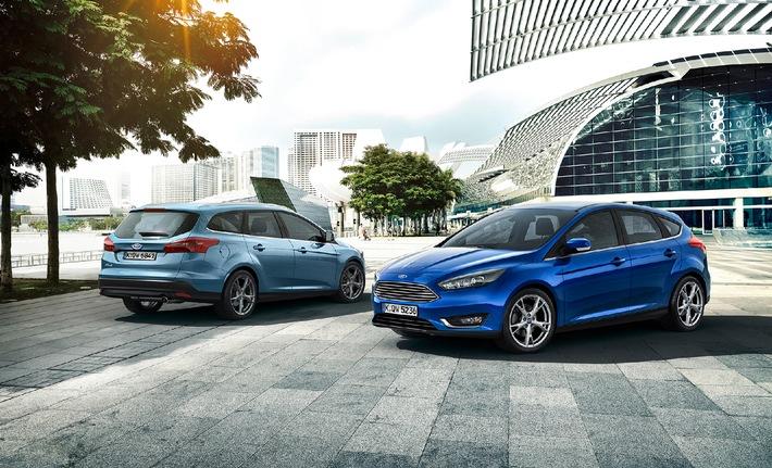 Der neue Ford Focus: Weltbestseller ist dank umfassender Neuerungen bereit für die nächste Runde