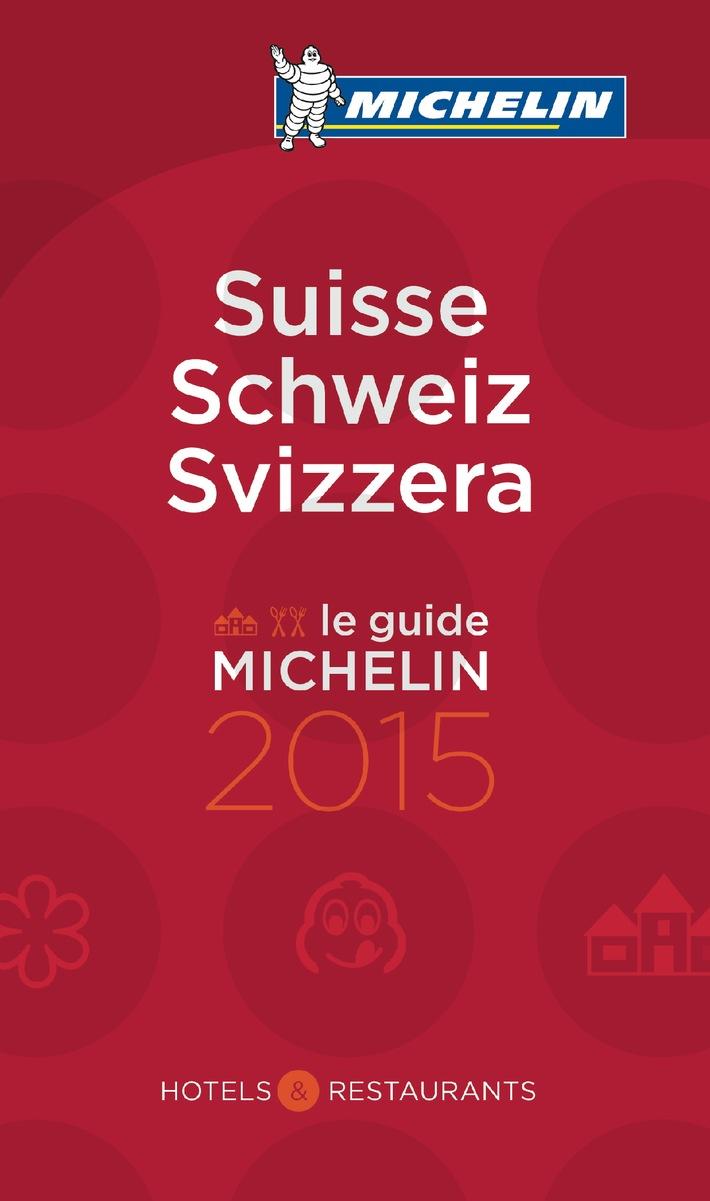 Guide MICHELIN Schweiz mit so vielen Sterne-Restaurants wie noch nie