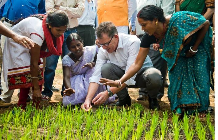 """Grüne Woche 2016: """"Eine Welt ohne Hunger ist möglich"""" / Bundesministerium für Wirtschaftliche Zusammenarbeit und Entwicklung präsentiert erstmals eigene Sonderschau auf der Grünen Woche"""