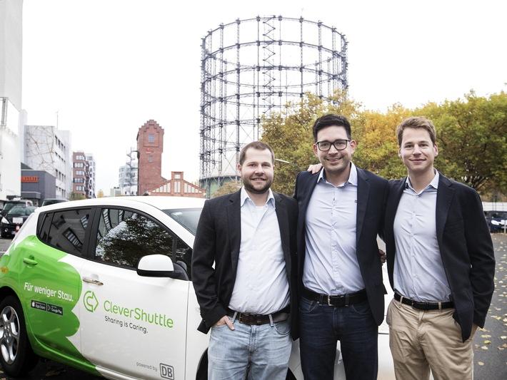 Megatrend Shared Mobility: CleverShuttle startet mit seinem RideSharing-Dienst erfolgreich ins neue Jahr