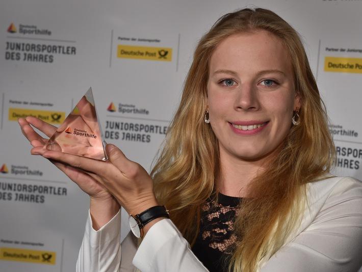 """Triathletin Laura Lindemann ist """"Juniorsportler des Jahres"""" 2015"""