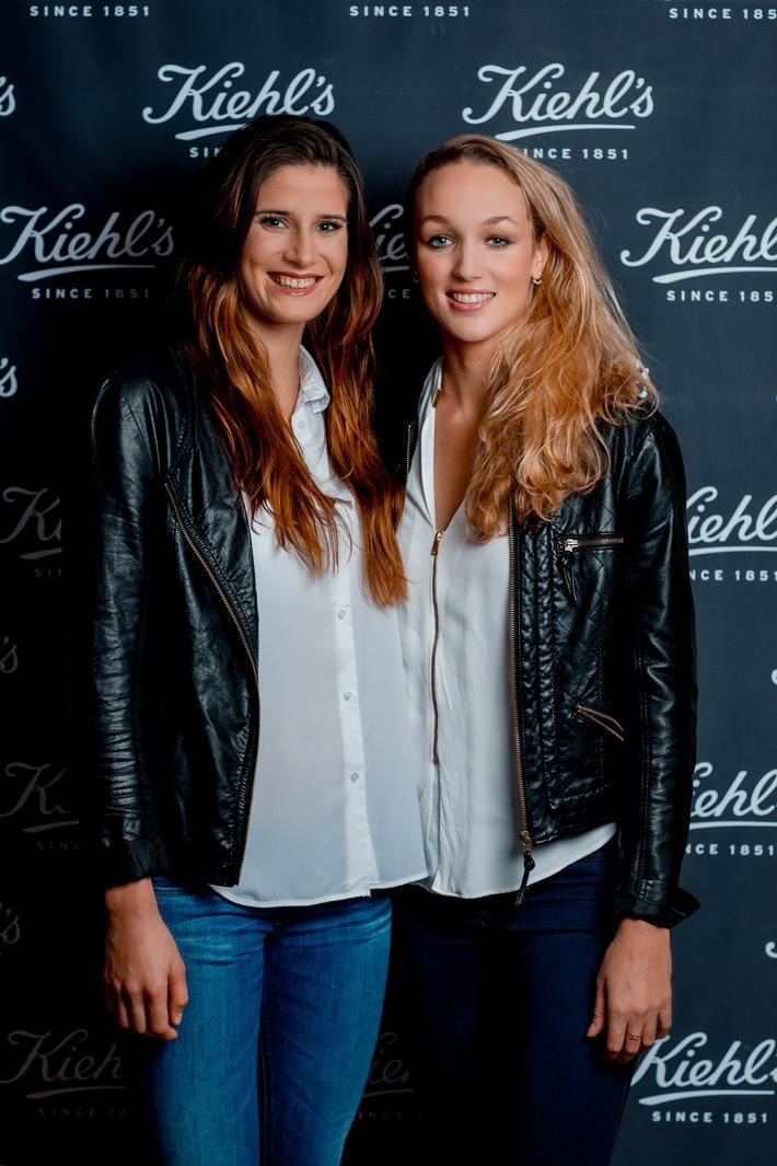Les deux étoiles montantes du beach volley suisse se mettent dans la peau de blogueuses avec Kiehl's
