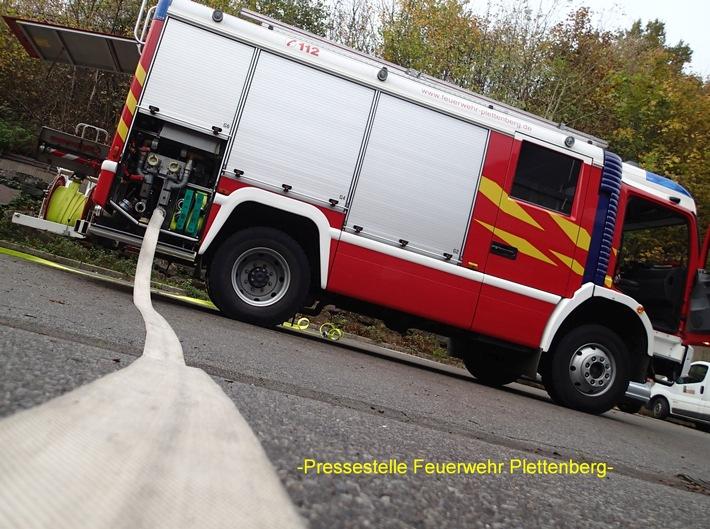 FW-PL: Abschlussmeldung der Feuerwehr Plettenberg zum Großfeuer im OT- Stadtmitte
