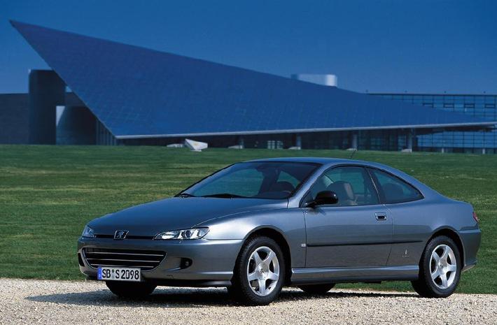 Peugeot 406 Coupé Modellpflege für einen noch dynamischeren Auftritt 100'000 Exemplare hergestellt