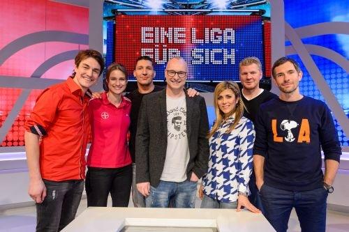 """Stefan gegen Stefan: Effenberg gegen Kretzschmar im unerbittlichen Duell bei """"Eine Liga für sich"""" am 24. April exklusiv auf Sky 1"""
