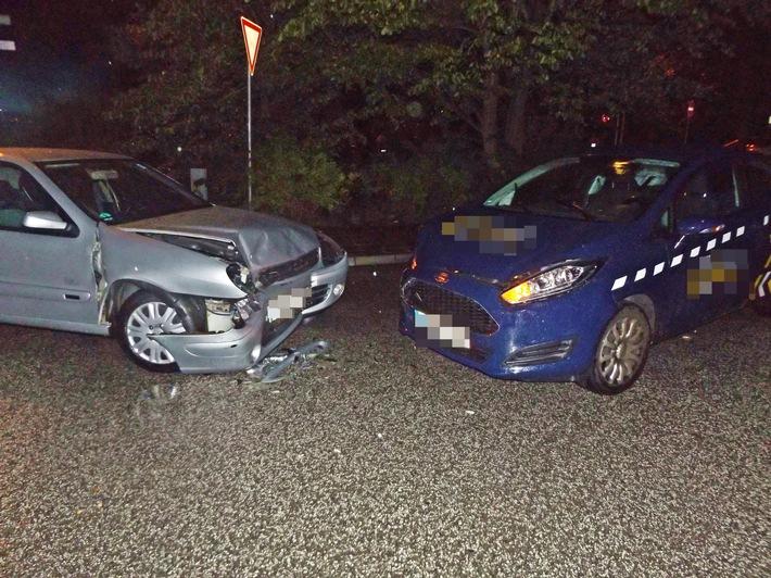 unfallbeteiligte Fahrzeuge