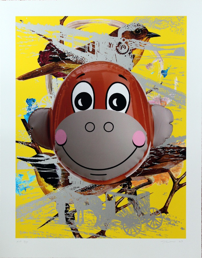 Ab heute in der artnet Online-Auktion Neo-Pop! / Jeff Koons mit Monkey Trains