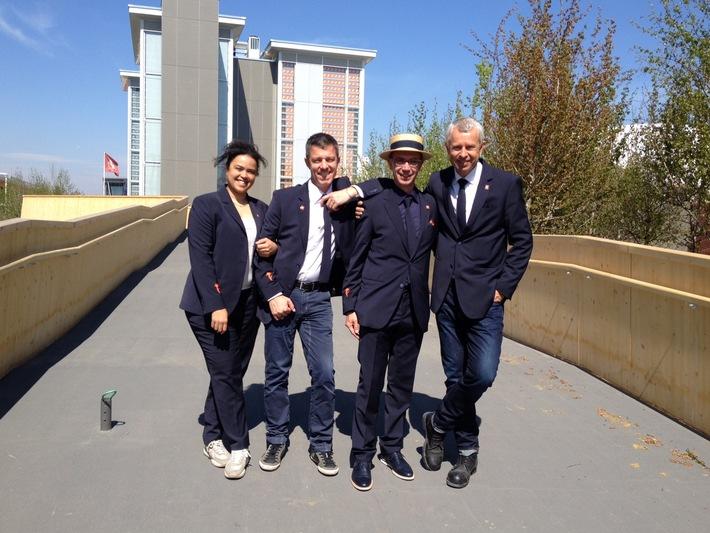 Fashion-Design trifft auf Schweizer Tradition / Schweizer Pavillon an der Expo Milano 2015: Teambekleidung