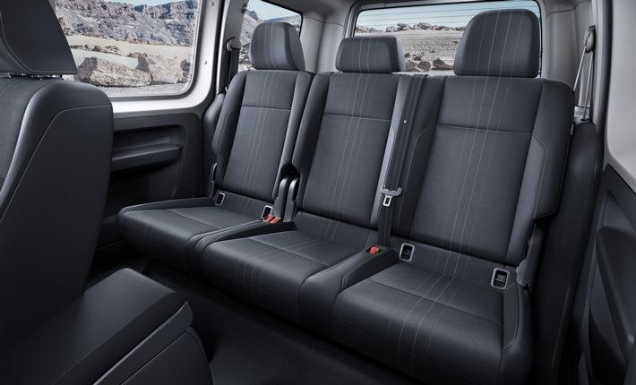 Volkswagen Nutzfahrzeuge - Pressemitteilung: Der neue Caddy - jetzt als Alltrack im Offroad-Look
