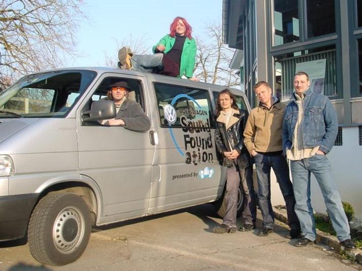 Unterwegs mit der Volkswagen Sound Foundation - Gigimoto on tour