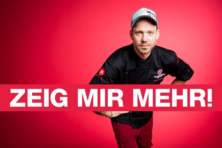 """""""ZEIG MIR MEHR!"""" - Der neue Claim von RTL II"""