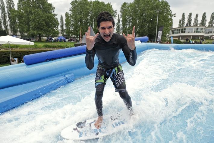 YOU Summer Break 2017 - Die perfekte Welle im Sommergarten