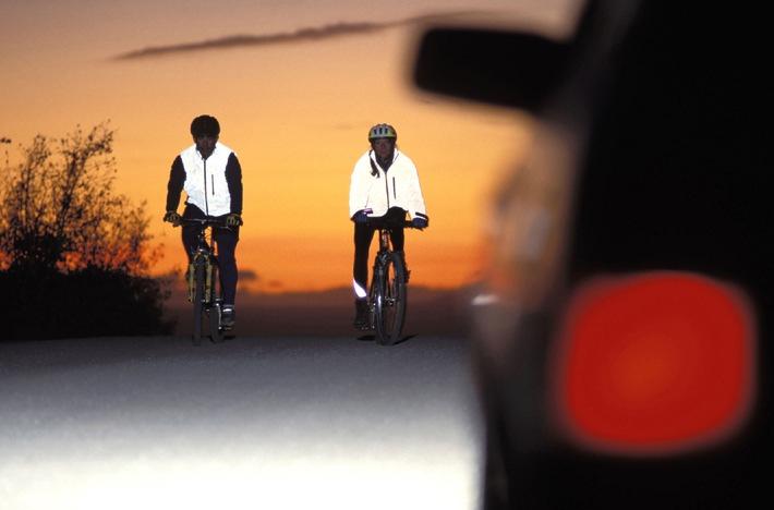 Neon ist in: Mehr Sicherheit durch Sichtbarkeit beim Fahrradfahren