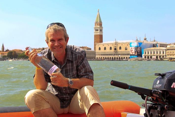 Von den Alpen nach Venedig im Zeichen eines innovativen Tourismus / Trekkingtour im Boot zur Lancierung eines neuen Marketingprojekts