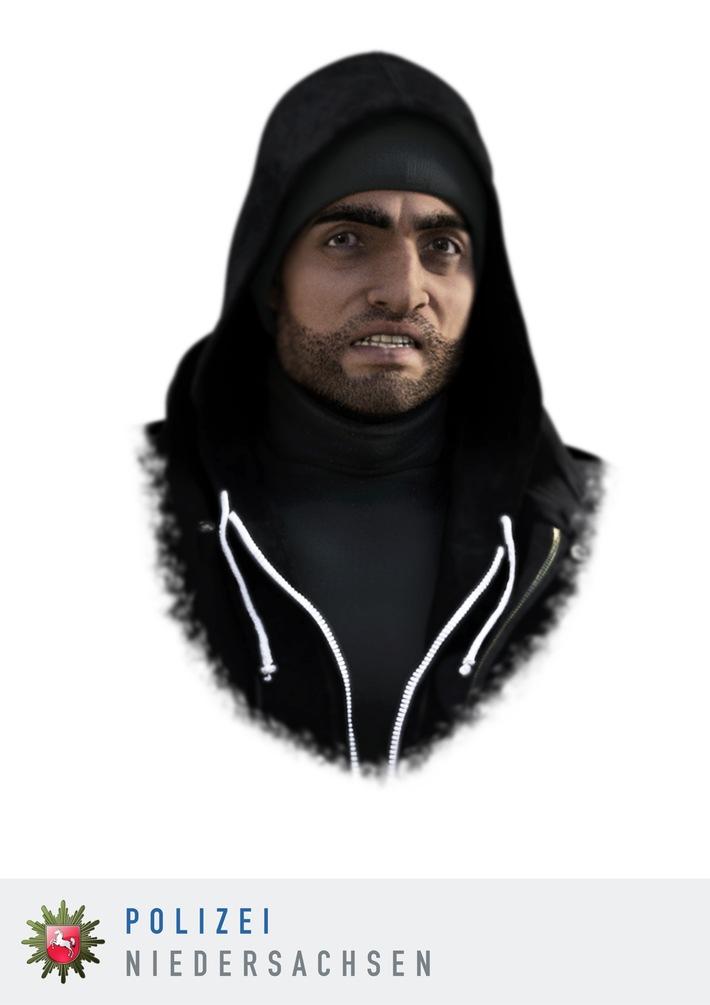 POL-H: Nachtragsmeldung  Öffentlichkeitsfahndung mit einem Phantombild Polizei ermittelt wegen versuchter Vergewaltigung