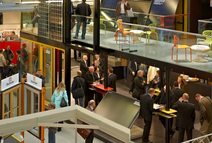 2e Expo Minergie: le tournant énergétique à l'exemple des bâtiments du 7 au 10 mars 2013, Centre des expositions de Lucerne (Image)