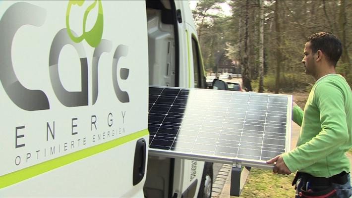 """Care-Energy startete gestern mit Care-Energy Solar """"plug and save"""" die erste Auslieferung"""