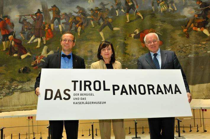 """""""DAS TIROL PANORAMA"""" - Das Konzept am Bergisel"""