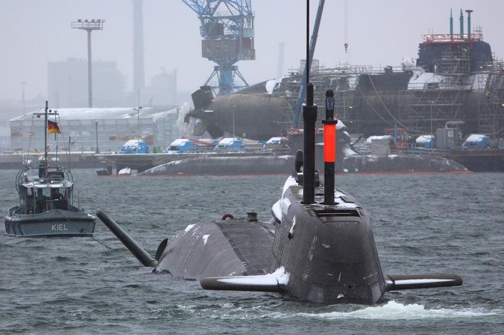 """Deutsche Marine stellt """"U35"""" in Dienst"""