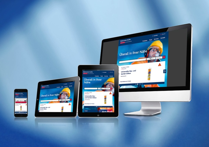 Debrunner Acifer Website - schneller und effizienter
