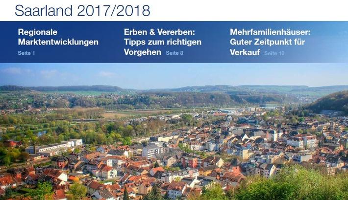 PM Immobilienmarktzahlen Saarland 2017 | PlanetHome Group GmbH