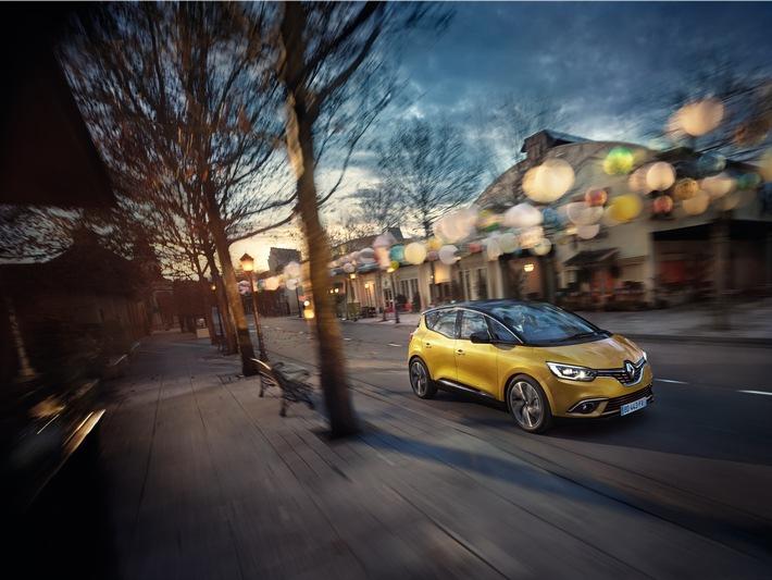 Internationaler Automobilsalon Genf 2016 / Neuer Renault Scenic: die Neuinterpretation des Vans