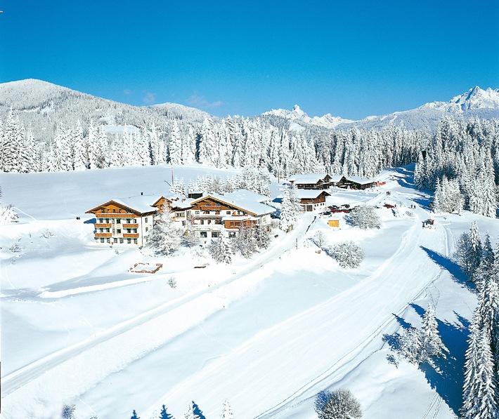Hotel Edelweiss Wagrain eröffnet Anfang Dezember seinen Greenspa - Österreichs ersten passivhausgerechten Wellnessbereich