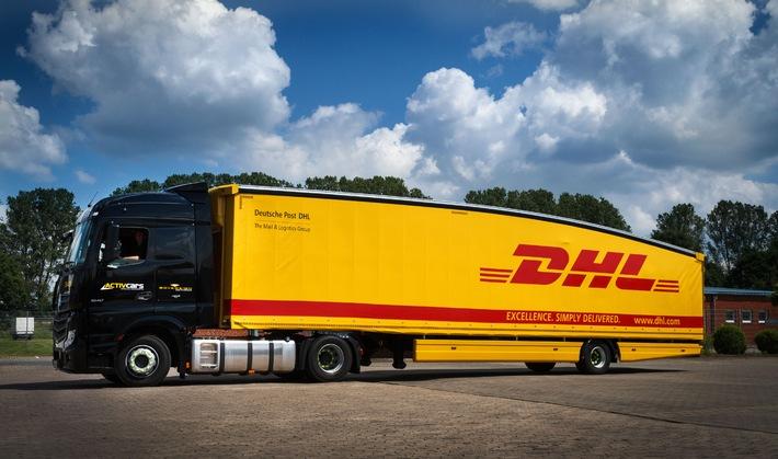 Deutsche Post DHL führt ersten Teardrop Trailer für Transport in Deutschland und Frankreich ein