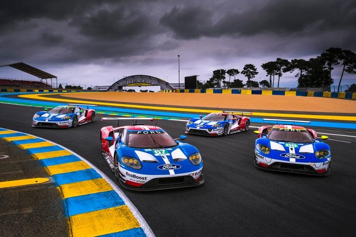 Ford Chip Ganassi Racing ist bereit für die Titelverteidigung bei den 24 Stunden von Le Mans