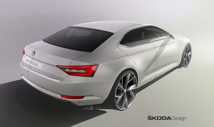 Design-Revolution: Der neue SKODA Superb
