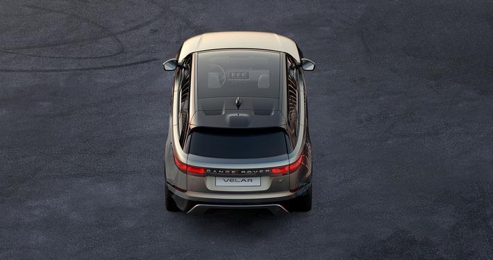 Vierte Range Rover-Modellreihe geht an den Start / Pure Eleganz und innovative Technologien: Der neue Range Rover Velar