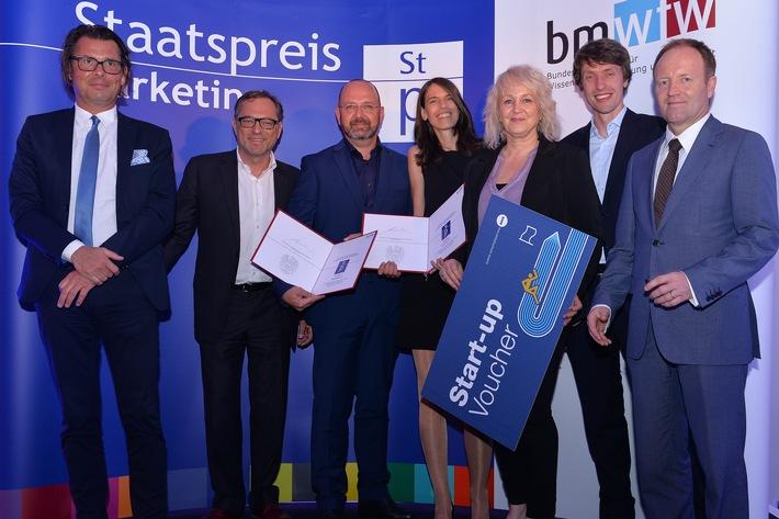 Staatspreis Marketing für bestes Start-Up geht an Tierischer-Urlaub.com - DAS Portal für Urlaub mit Hund!
